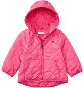Ralph Lauren Diamond-Quilted Hooded Jacket