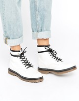 Pull&Bear Lace Up Work Boots