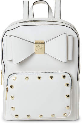 Betsey Johnson Studded Bow Backpack