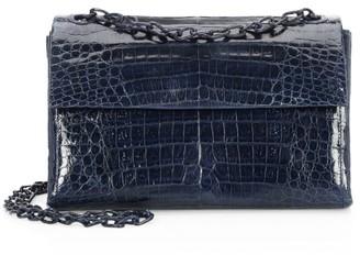 Nancy Gonzalez Madison Crocodile Shoulder Bag