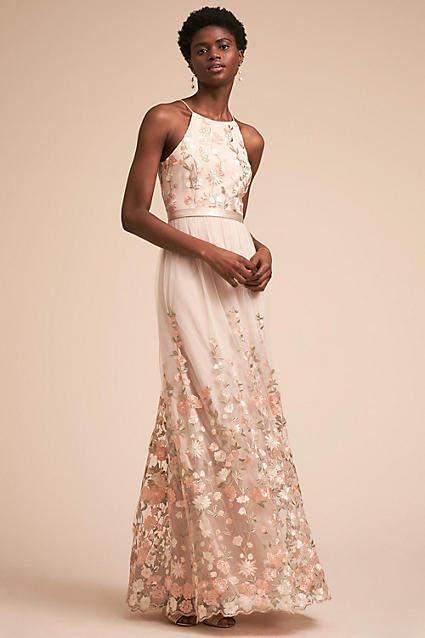 Anthropologie Shannon Wedding Guest Dress