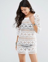Gypsy 05 Crochet Mini Dress