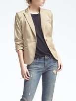 Banana Republic Sateen Classic-Fit Blazer