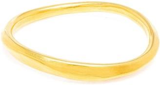 Marie Helene De Taillac 18kt Gold Oval Bangle