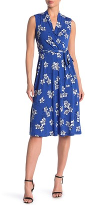 Tommy Hilfiger Charleston Jersey Floral Print Fit and Flare Dress