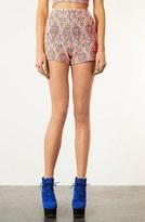 Paisley Shorts Orange Multi 12