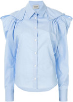 Rachel Comey fril-detail fitted shirt