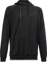 Lanvin classic striped hem hoodie - men - Cotton/Polyester/Rayon - L