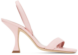 BY FAR Pink Lotta Sandals