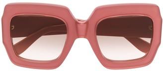 Gucci Chunky Square Frame Sunglasses