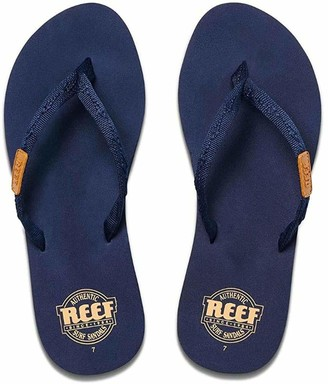 Reef Women's Sandals Ginger | Water-Friendly Flip Flops for Everyday Use Navy