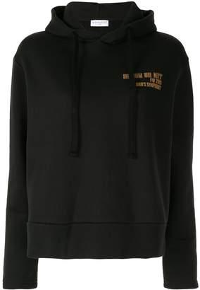 Ih Nom Uh Nit logo detail hoodie