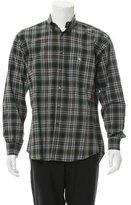 Etro Plaid Print Button-Up Shirt