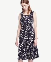 Ann Taylor Tall Shadow Leaf Culottes