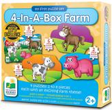 Very My first Puzzle Sets - 4 in a box Farm Animals