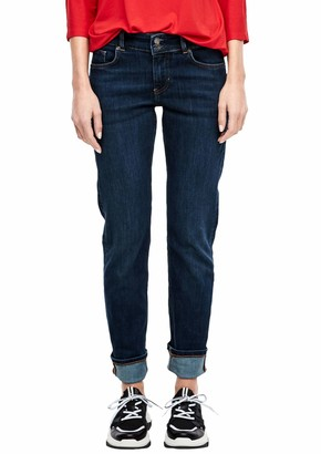 S'Oliver Women's 21.001.71.6115 Straight Jeans