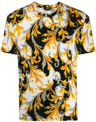 Versace Acanthus-print T-shirt