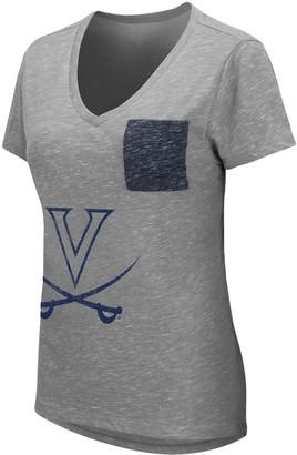 Women's University of Virginia Cavaliers Short Sleeve Graphic Pocket Tee