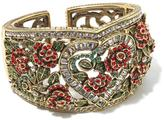 "Heidi Daus Red Queen"" Crystal-Accented Cuff Bracelet"
