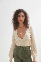 Urban Outfitters Ruth V-Neck Blouse