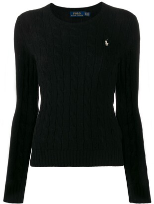 Polo Ralph Lauren Cable-Knit Slim-Fit Jumper