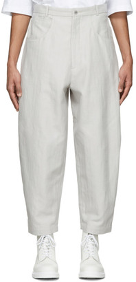 House of the Very Islands Grey Oil Pump Trousers