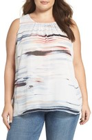 Vince Camuto Plus Size Women's Floating Whispers Top