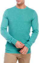 Ben Sherman Crew Neck Ripple Stitch Sweater