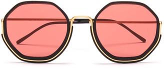 Wires Glasses Honeys - Gold/Black/Pink