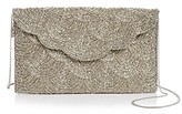 From St Xavier Chevy Beaded Clutch