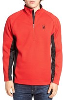 Spyder Men's 'Outbound' Quarter Zip Knit Pullover