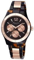 Kenneth Cole KC0003 Women's Classic Stainless Steel & Plastic Watch