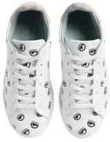 Chiara Ferragni Logo Roger Eyelash Sneaker