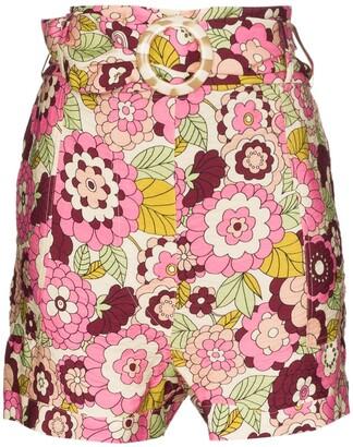 Dodo Bar Or Malca floral print shorts