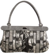 Antonio Marras Leather-Trimmed Printed Bag