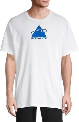 Off-White Logo Graphic Cotton Tee