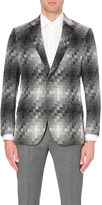Richard James Tonal square wool-blend blazer