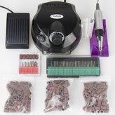 Subay 30000rpm Pro Electric Nail Drill Machine Pedicure Manicure Kits File Drill Bits Sanding Band Accessory Nail Salon Nail Art Tools