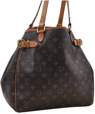 Louis Vuitton Brown Cloth Handbags