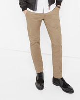 Ted Baker Slim Fit Cotton Chinos Natural