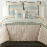 Asstd National Brand Cadence 6-pc. Jacquard Comforter Set