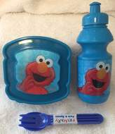 Sesame Street 4 Pc Toddler Characters Lunch Kit
