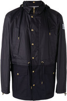 Moncler Gamme Bleu logo patch hooded jacket