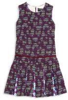 Oscar de la Renta Toddler's, Little Girl's & Girl's Tweed Pleated Dress
