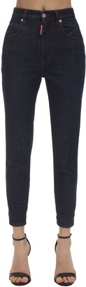 DSQUARED2 Twiggy Cropped Denim Jeans