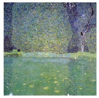 """Gustav Global Gallery """"Pond At Schloss Kammer On The Attersee 1910"""" Print by Klimt, 2"""