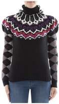 Loewe Black Wool Turtleneck