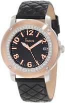 Freelook Women's HA1812G-3 Quilted Leather Watch