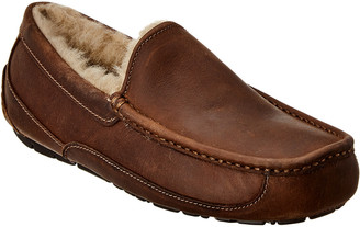 UGG Ascot Leather Slipper