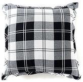 Daniel Cremieux Ramsey Plaid Flannel Square Feather Pillow